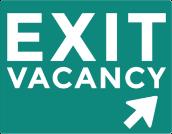 Exit Vacancy Logo